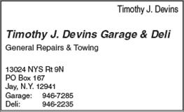 Devins Garage