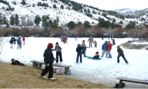 Community Ice Skating Party @ Lake Eaton